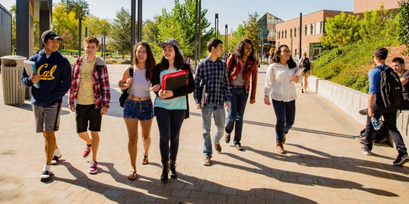 DVC Students on Campus