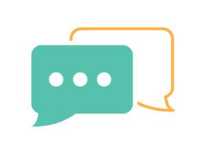 FAQ Chat Bubbles